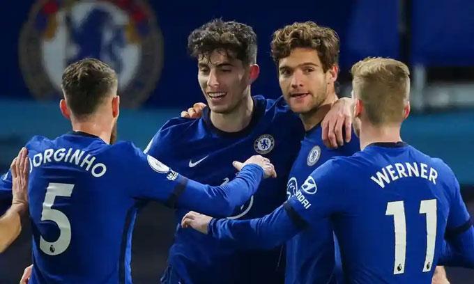 Chelsea giữ chắc vị trí trong Top 4