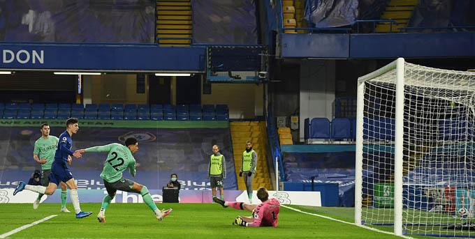 Havertz đã có một ngày thi đấu ấn tượng trong trận Chelsea thắng Everton