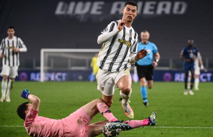 Ronaldo đã chơi nhạt nhòa