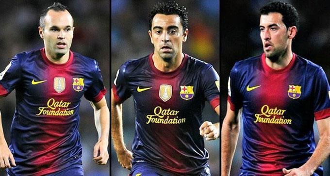 Iniesta - Xavi - Busquets là nền tảng tạo nên giai đoạn thành công nhất lịch sử Barca