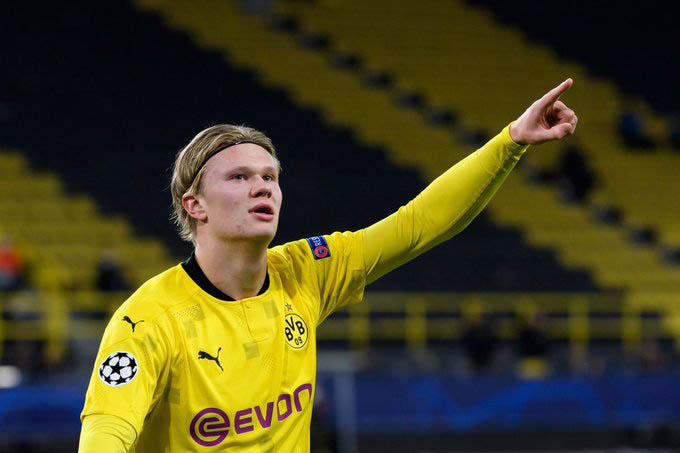 """3. Erling Braut Haaland (Borussia Dortmund):Haaland vẫn đang """"chiếm sóng"""" với khả năng ghi bàn ấn tượng tại Dortmund. 29 bàn và 8 kiến tạo sau có 28 trận ở mùa giải này đang giúp Haaland ngày một đáng sợ hơn đối với mọi hàng thủ và Dortmund cũng lo lắng hơn khi các CLB hàng đầu châu Âu sẵn sàng ra giá cao để có anh"""