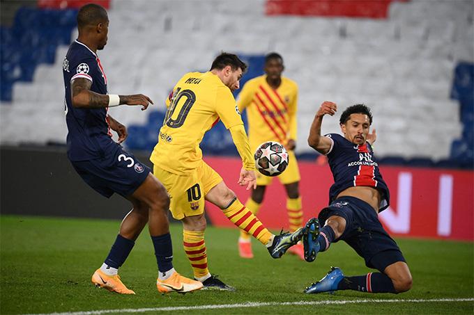 Messi và các đồng đội đã thể hiện rất tốt ở trận này