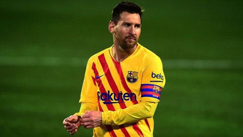 Messi lần đầu đá hỏng phạt đền tại Champions League sau 5 năm