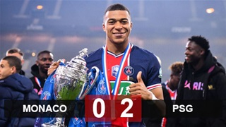 Mbappe rực sáng, PSG giành Cúp Quốc gia Pháp lần thứ 14