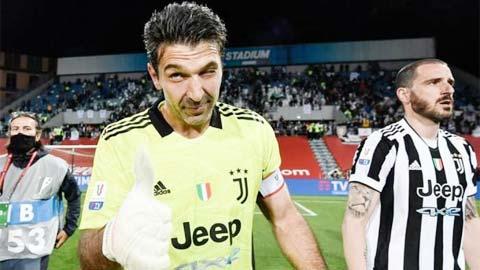 Juventus vô địch Coppa Italia: Cái kết đẹp của kỷ lục gia Buffon