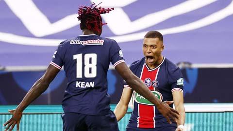 PSG vô địch Cúp Quốc gia Pháp: Mbappe vẫn là ngôi sao sáng nhất