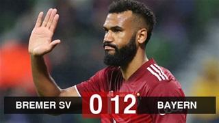 Bayern nghiền nát đối thủ 12 bàn không gỡ ở vòng 1 Cúp Quốc gia Đức