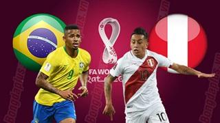07h30 ngày 10/9: Brazil vs Peru