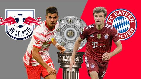 23h30 ngày 11/9: RB Leipzig vs Bayern