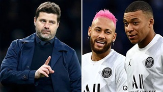 HLV Pochettino: 'Lỗi không thuộc về Messi, Mbappe và Neymar'