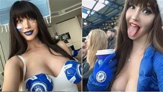 Maria Liman: Nữ CĐV Chelsea quyến rũ 'gây bão' trên khán đài