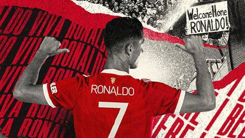 Ronaldo làm hồi sinh áo số 7 huyền thoại ở MU