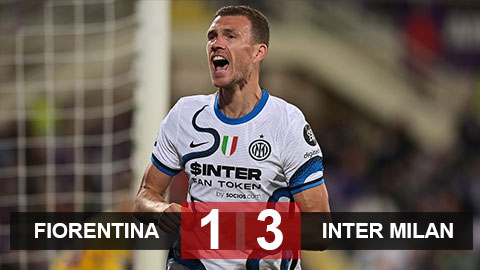 Thắng ngược Fiorentina, Inter Milan chiếm ngôi đầu BXH
