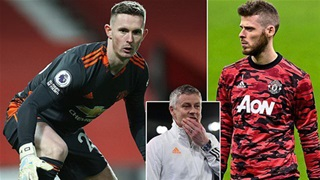 Henderson sắp bị MU cho mượn vì 'bó tay' trước De Gea