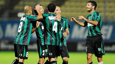 01h45 ngày 26/8: Torino vs Sassuolo