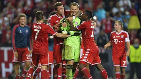 Đánh bại Chelsea trên chấm 11m, Bayern giành Siêu Cúp châu Âu