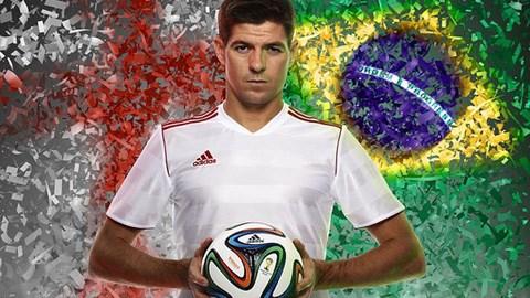 Ra mắt trái bóng chính thức ở World Cup 2014 - Brazuca