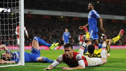 """Arsenal 0-0 Chelsea: Wenger vẫn chưa thể đánh bại """"Người đặc biệt"""""""