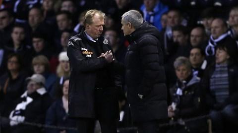 Khoảnh khắc vui nhộn của Mourinho và McClaren