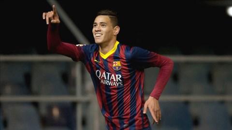 Tài năng trẻ Barca từ chối Arsenal để tới Roma