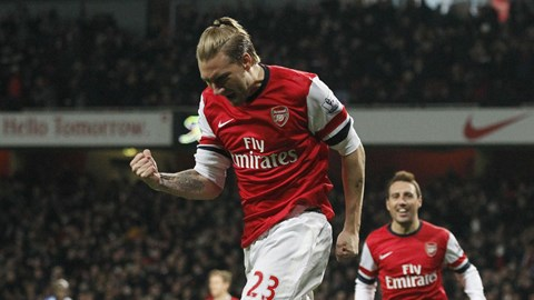 Arsenal không cần nâng cấp hàng công trong tháng Giêng
