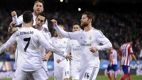 Ronaldo lập cú đúp, Real vào chung kết Cúp nhà Vua