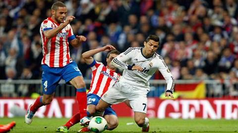"""Ronaldo """"đóng kịch"""" giúp Real thắng Atletico?"""