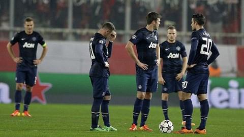 """Olympiakos 2-0 M.U: """"Quỷ đỏ"""" thua tâm phục khẩu phục"""
