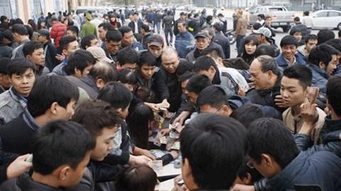 Sân Cẩm Phả huy động 400 người đảm bảo an ninh trận Than.QN-Hải Phòng