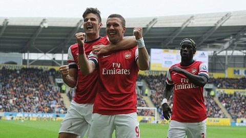 Hull City 0-3 Arsenal: Pháo nổ tưng bừng