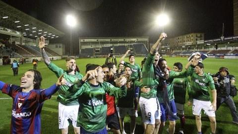 Eibar lần đầu thăng hạng La Liga