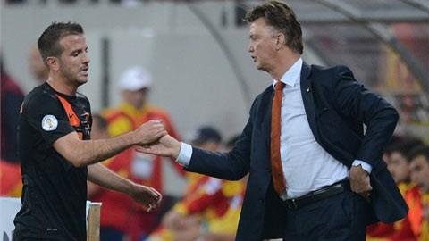 Hà Lan chốt danh sách 23 cầu thủ: Van der Vaart ở nhà