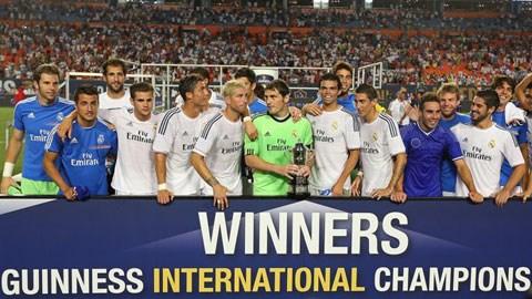 Guinness International Champions Cup: Giải đấu của các đại gia