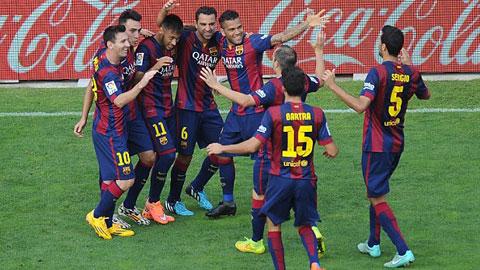 Barca có nguy cơ bị loại khỏi La Liga