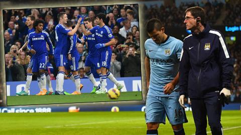 Chelsea sẽ lại bỏ xa Man City-không-Aguero?
