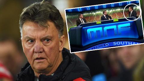 """Van Gaal """"phản pháo"""" vụ Gary Neville xem thường trận M.U vs Liverpool"""