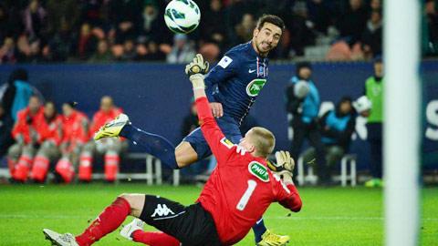 PSG muốn bán Lavezzi cho Inter