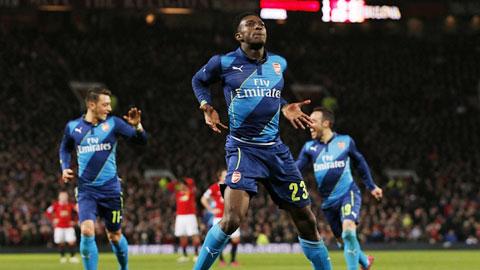 Khi Welbeck ăn mừng tại Old Trafford...