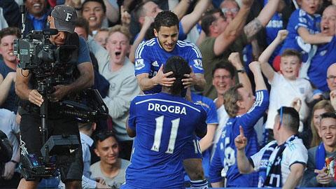 Chấm điểm Chelsea 1-0 M.U: Khác biệt đến từ Hazard