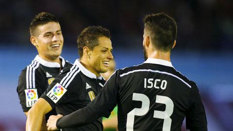 Celta Vigo 2-4 Real Madrid: Lấy công bù thủ