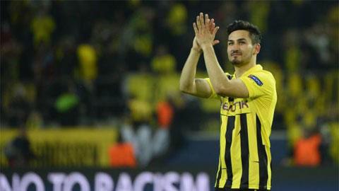 Dortmund sắp mất Guendogan vào tay M.U?