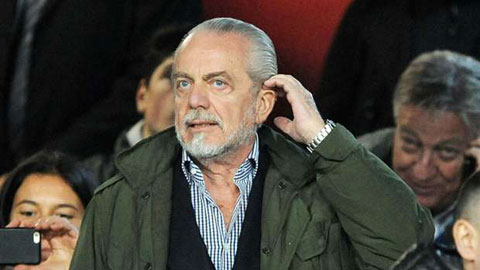 Chủ tịch Napoli nổi điên với trọng tài, đòi Platini rời ghế chủ tịch UEFA