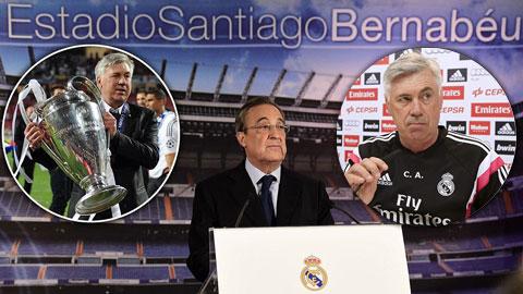 Real Madrid sa thải Ancelotti
