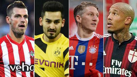 Schneiderlin, Guendogan, Schweinsteiger & De Jong: Ai hợp với M.U?