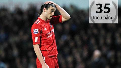 5 bản hợp đồng đắt giá nhất của Liverpool
