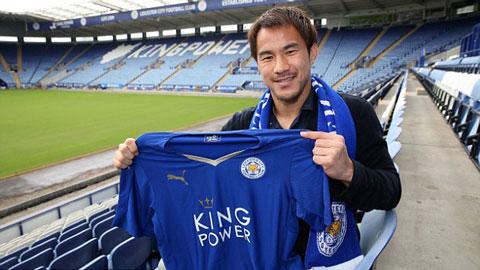 Tiền đạo hàng đầu Nhật bản gia nhập Leicester City