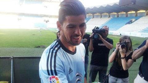 Barca muốn đưa Nolito về thay Pedro
