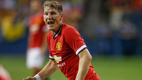 M.U: Schweinsteiger ghi điểm với Van Gaal
