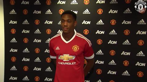 Tân binh 36 triệu bảng - Anthony Martial khoác áo số 9 tại M.U