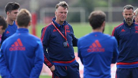Cầu thủ M.U và Van Gaal nảy sinh mâu thuẫn